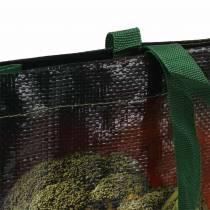 Boodschappentas met handvatten Groenten kunststof 38 × 10 × 39cm