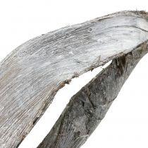 Palm Sing 110 cm gewassen wit