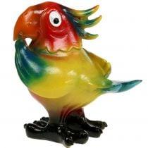 Papegaaienfiguur 11,5 cm gekleurd, 1 st