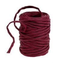 Papieren koord 6mm 23m Bordeaux