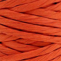 Papiersnoer 6 mm 23 m oranje