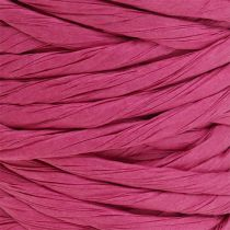 Papieren koord 6mm 23m roze
