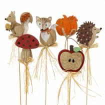 Plantenstokken herfst assortiment 12st