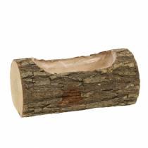 Plantenbak gemaakt van iepenhout 20cm x 11cm H9cm