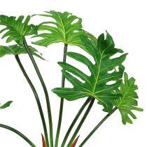 Philodendron plant kunstgroen 58cm