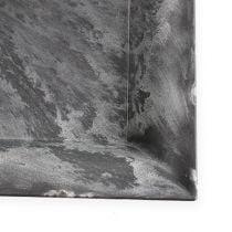 Kunststof bord vierkant antraciet 31cm x 31cm