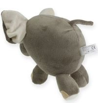 Pluche olifant 20cm grijs