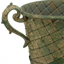 Plantbeker, decoratieve beker, amfora voor opplant Ø18,5cm H31,5cm