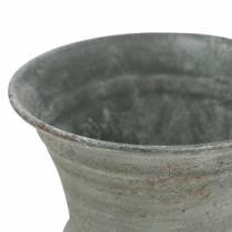 Bekerkop Antiek Grijs Ø7.5cm H9cm