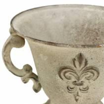 Beker Vintage Crème Ø15cm H13,5cm