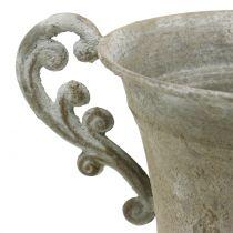 Kopje Antieke stijl Grijs Ø14,5cm H21cm