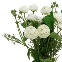 Ranunculus boeket wit 42cm
