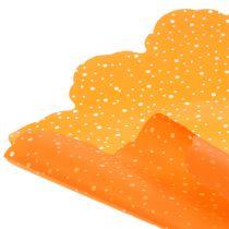 Rondella stippen oranje Ø68cm 50st