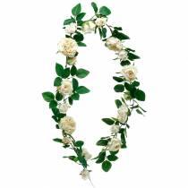 Romantische rozenkrans, zijden bloem, kunstmatige rozenrank 160cm