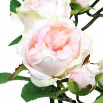Rozenkrans roze Ø35cm