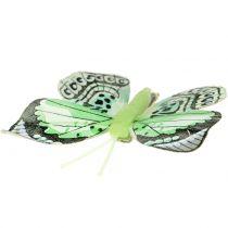 Decoratieve vlinder op de clip gesorteerd 5cm - 8cm 10st
