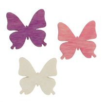 Verspreidende vlinders Mix 2cm 144st