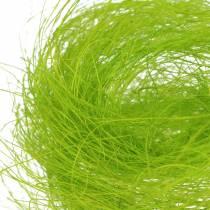 Sisal lente groen decoratief gras 500g