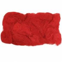 Sisal rood 500g natuurlijke vezels