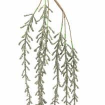 Succulente rank hangend groen, brons metallic 114cm