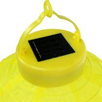 Lampion LED met zonne-energie 20cm geel