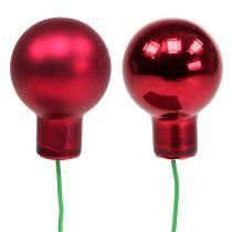 Spiegelbessen rood mix Ø25mm 140st