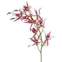 Spider orchideeën roze-oranje 108cm 3st