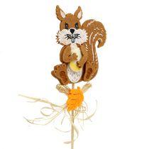 Plug egel, eekhoorn L30cm 12 stuks