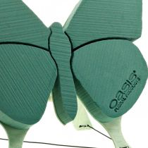 Steekschuim figuur vlinder met standaard 56cm x 40cm