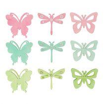 Relatiegeschenken vlinders & libellen 4cm 72st