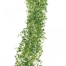 Sappige hangende kunsthangplant groen 96cm
