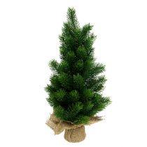 Dennenboom in jute zak 47cm