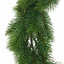 Decoratieve dennenkrans kunst winterkrans groen Ø35cm