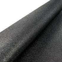 Tafeldecoratie tafelloper zwart 50cm 3m