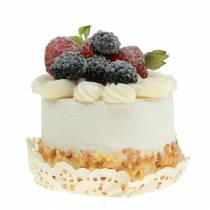 Decoratieve cupcake braamvoedselreplica 7cm
