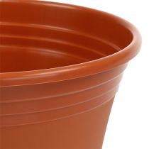 "Pot ""Irys"" plastic terracotta Ø15cm - 43cm, 1 st"