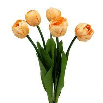 Abrikozen tulpenboeket 43cm