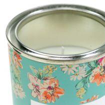 Geurkaars vanille in bloembak Ø6,5cm