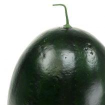 Watermeloen kunstgroen 30cm