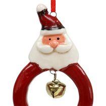 Kerstfiguren 8cm - 10cm om op te hangen 3st