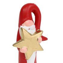 Kerstman figuur rood H15cm