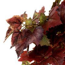Wijnstokbladeren hanger groen, donkerrood 100cm