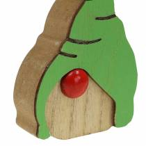 Imp hout assorti 6.5x9cm 10st