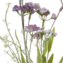 Weide bloem licht violet L60cm 3st