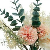 Weideboeket kunstboeket zijden bloemen H42cm