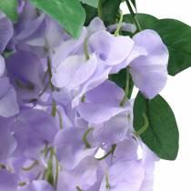 Slinger blauwe regen paars 175cm 2st