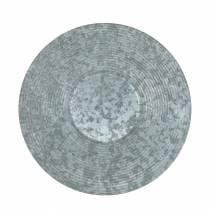 Decoratieve plaat zinkplaat Ø35cm