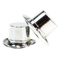 Cilinder mini zilver 12st