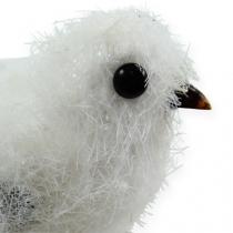 Sneeuwvogel 14cm met clip