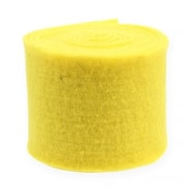 Vilt lint geel 15cm 5m